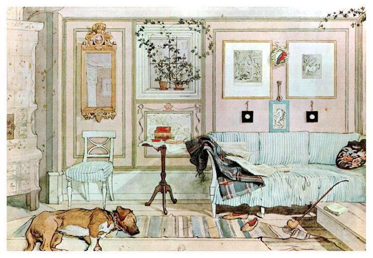 Lazy Nook - Carl Larsson