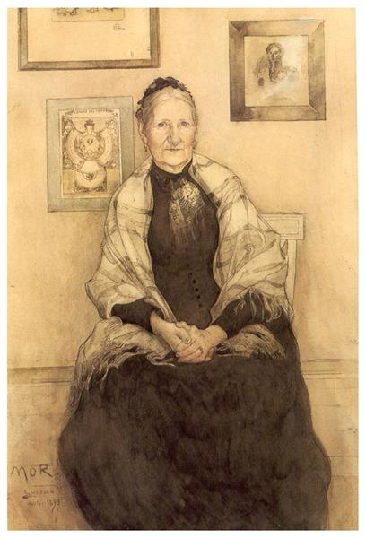 My mother, 1893 - Carl Larsson