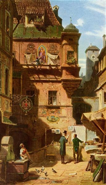 Arts and Science, c.1880 - Carl Spitzweg