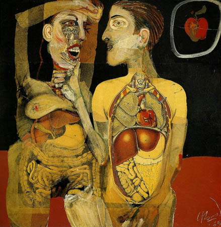 Adam and Eve - Carlos Alonso