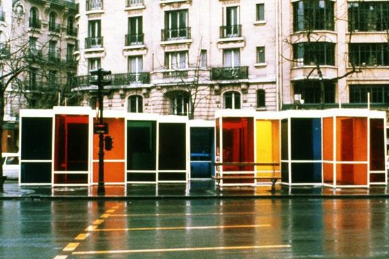 Chromosaturation pour un lieu public - Carlos Cruz-Diez
