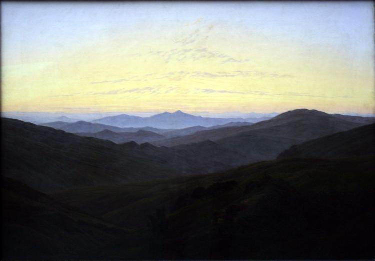 The Riesengbirge, 1830 - 1835 - Caspar David Friedrich