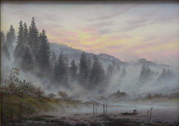 Morning, 1821 - Caspar David Friedrich