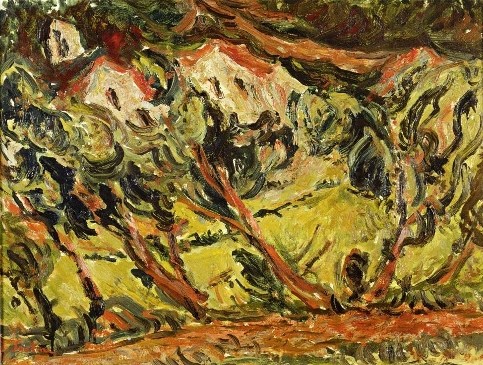 Ceret landscape chaim soutine for Chaim soutine