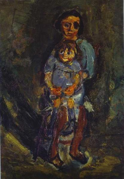 Mother and Child, c.1942 - Chaïm Soutine