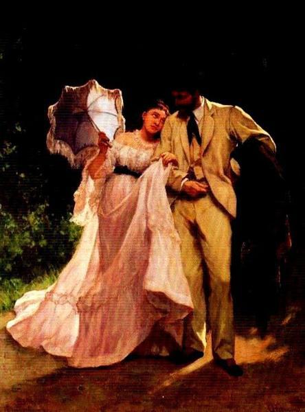 Honeymoon, 1871 - Charles Hermans