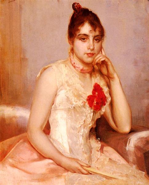 Spanish Beauty - Charles Hermans