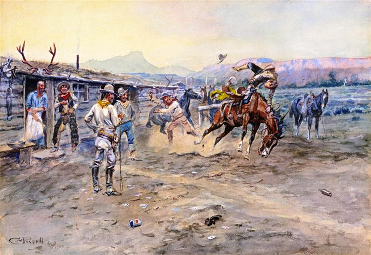 The Tenderfoot, 1900 - Charles M. Russell