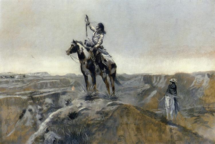 WAR - Charles M. Russell