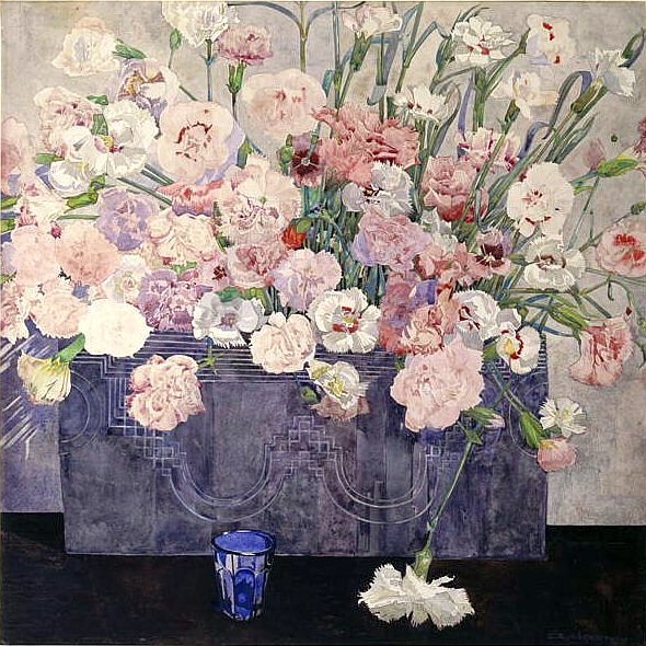 Pinks - Charles Rennie Mackintosh
