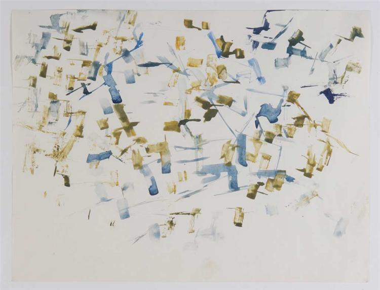 Untitled (After Nature: Landscape), 1962 - Charlotte Posenenske