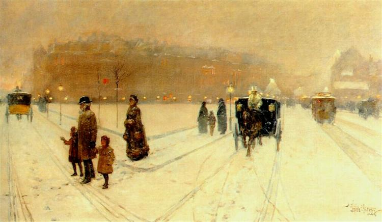 A City Fairyland, 1886 - Childe Hassam