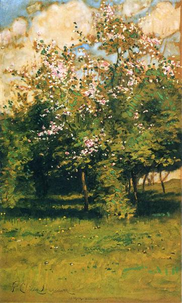 Blossoming Trees, 1882 - Childe Hassam