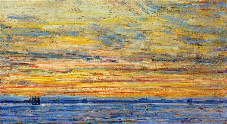 Evening, 1907 - Childe Hassam