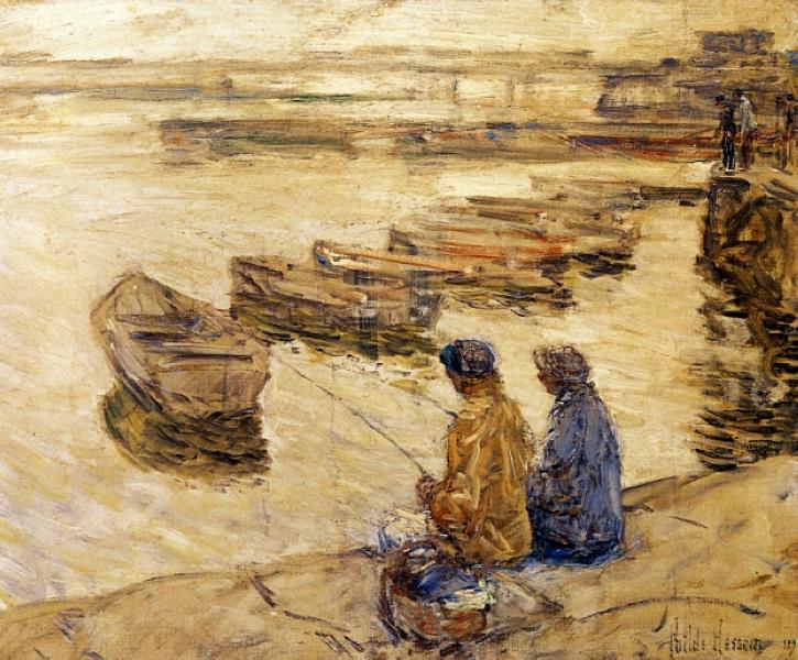 Fishing, 1896 - Childe Hassam