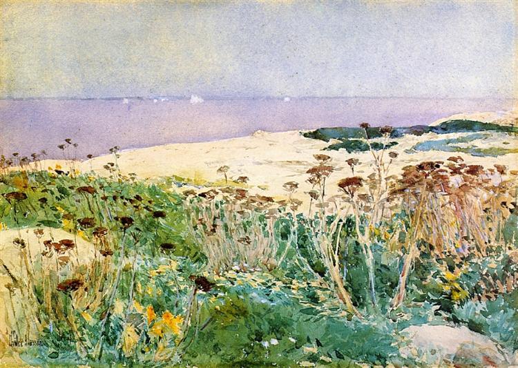 Isle of Shoals, 1890 - Childe Hassam