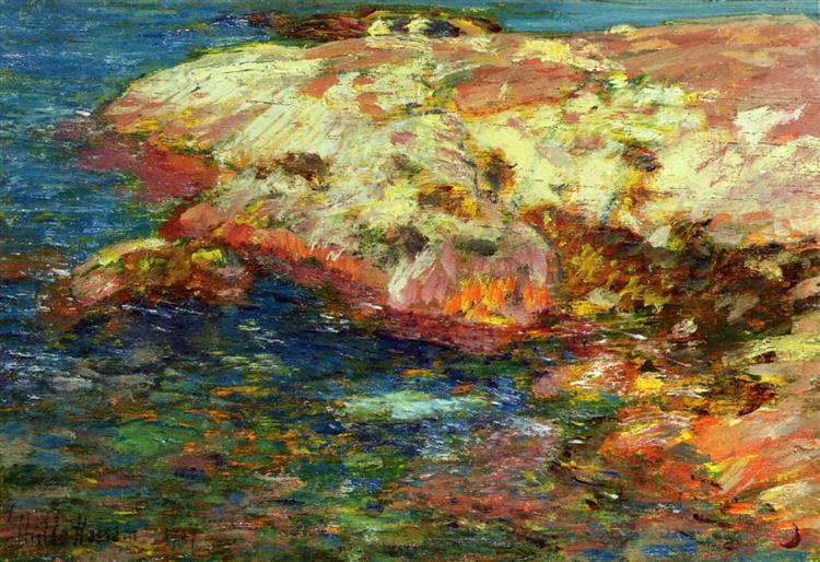 Isle of Shoals, 1909 - Childe Hassam