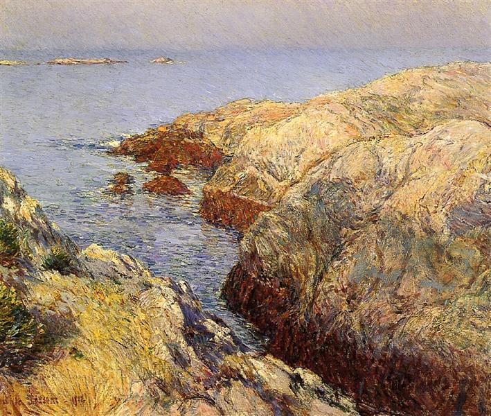 Isle of Shoals, 1912 - Childe Hassam