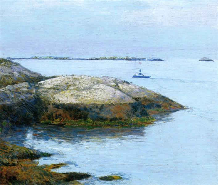 Isles of Shoals, Appledore, 1890 - Childe Hassam