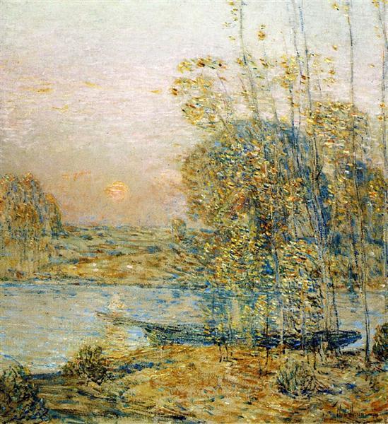 Late Afternoon (aka Sunset), 1903 - Childe Hassam