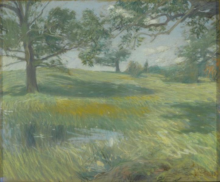 Meadows - Childe Hassam