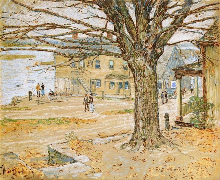 November, Cos Cob, 1902 - Childe Hassam