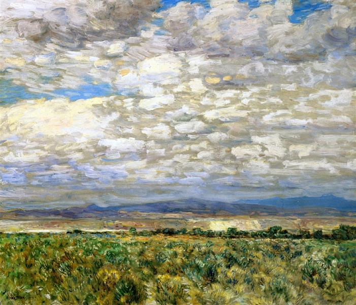 On the Snake River, Oregon, 1904 - Childe Hassam