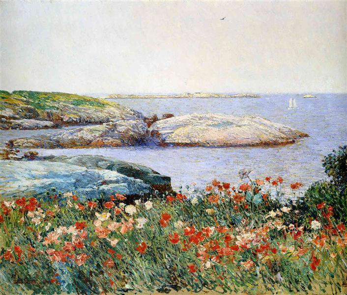 Poppies, Isles of Shoals, 1891 - Childe Hassam