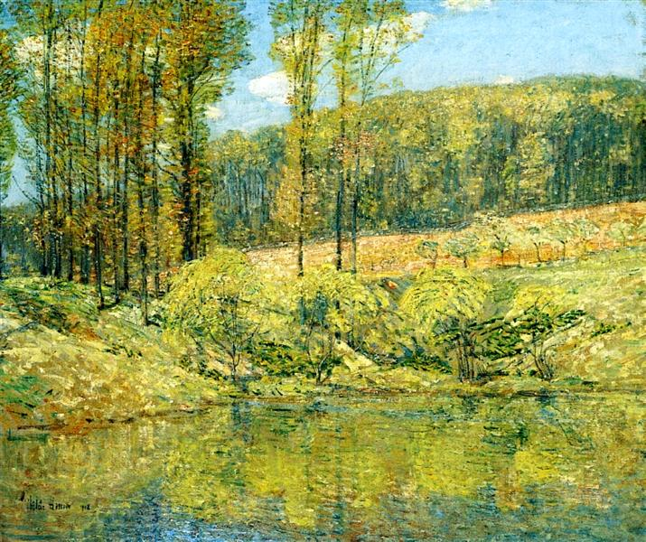 Spring, Navesink Highlands, 1908 - Childe Hassam