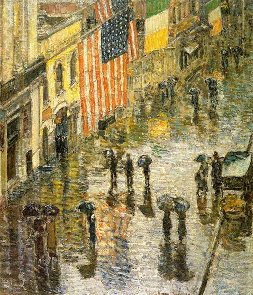 St. Patrick's Day, 1919 - Childe Hassam