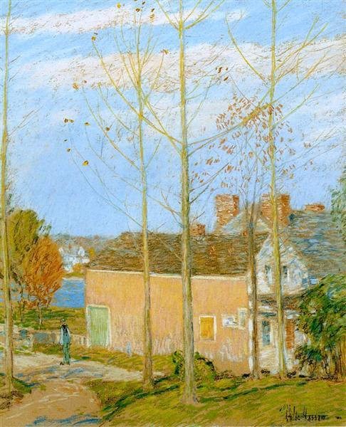 The Barn, Cos Cob, 1902 - Childe Hassam