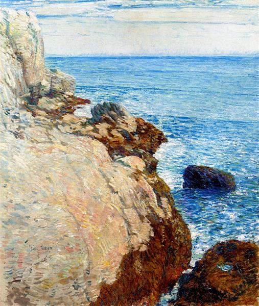 The East Headland, Appledore - Isles of Shoals, 1908 - Childe Hassam