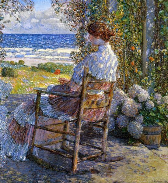 The Sea, 1892 - Childe Hassam