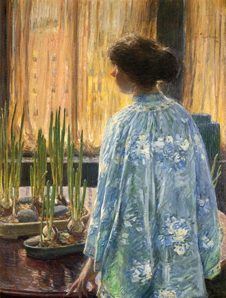 The Table Garden, 1910 - Childe Hassam