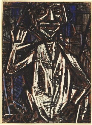 Idol (Torso with Raised Hand), 1921