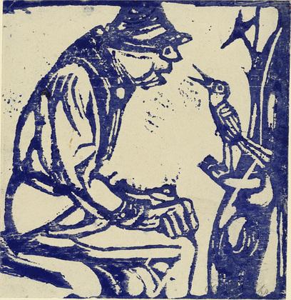 Song Bird, 1912 - Christian Rohlfs