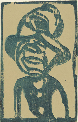 Street Urchin (Head with Hat), 1921