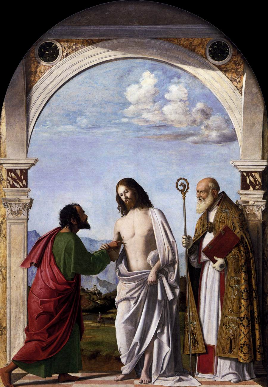 Doubting Thomas with St. Magnus, 1505