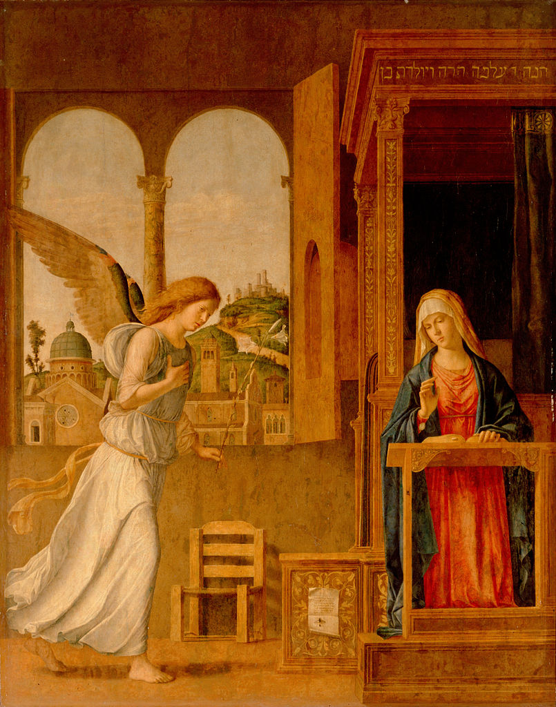 The Annunciation, 1495