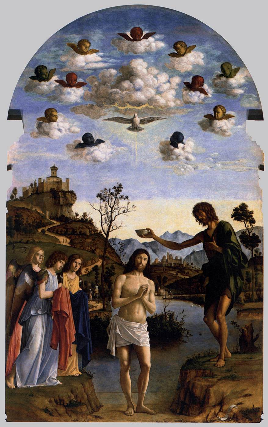 The Baptism of Christ, 1493