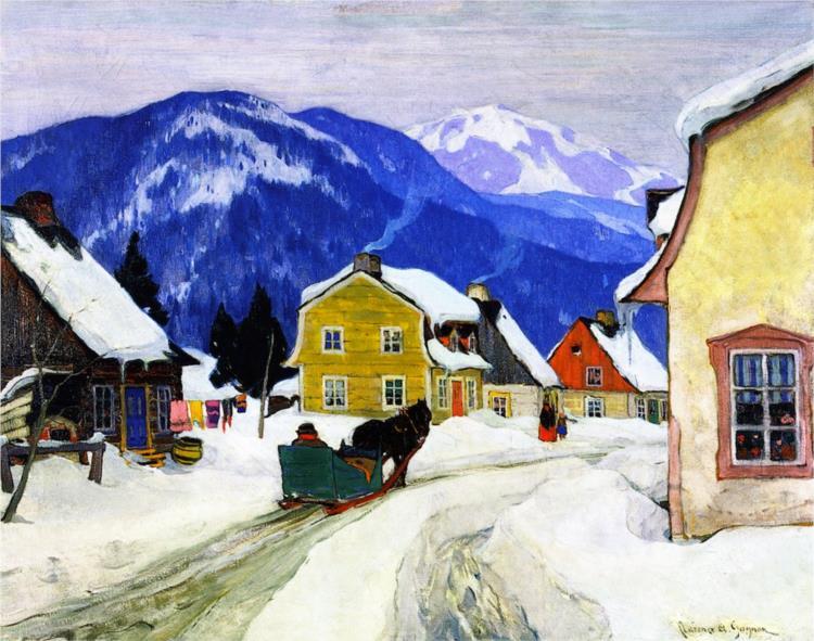 Laurentian Village, 1927 - Clarence Gagnon