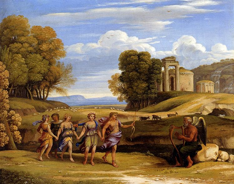 The Dance Of The Seasons - Claude Lorrain