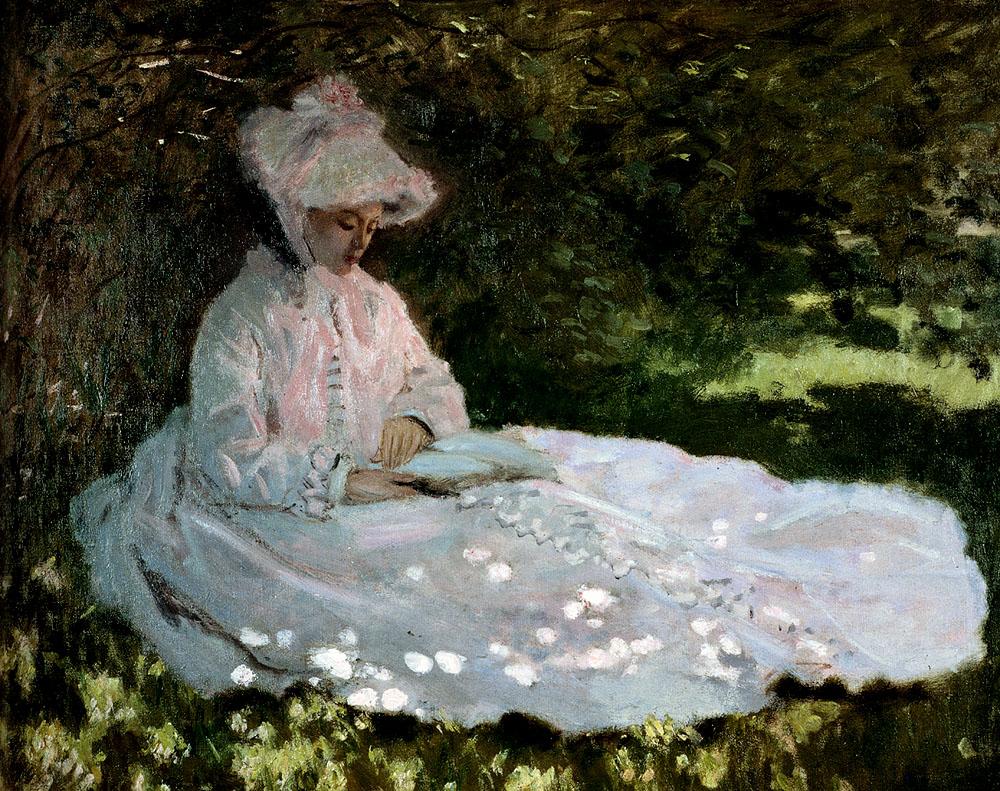 pintar-paisajes-impresionismo-Monet-primavera