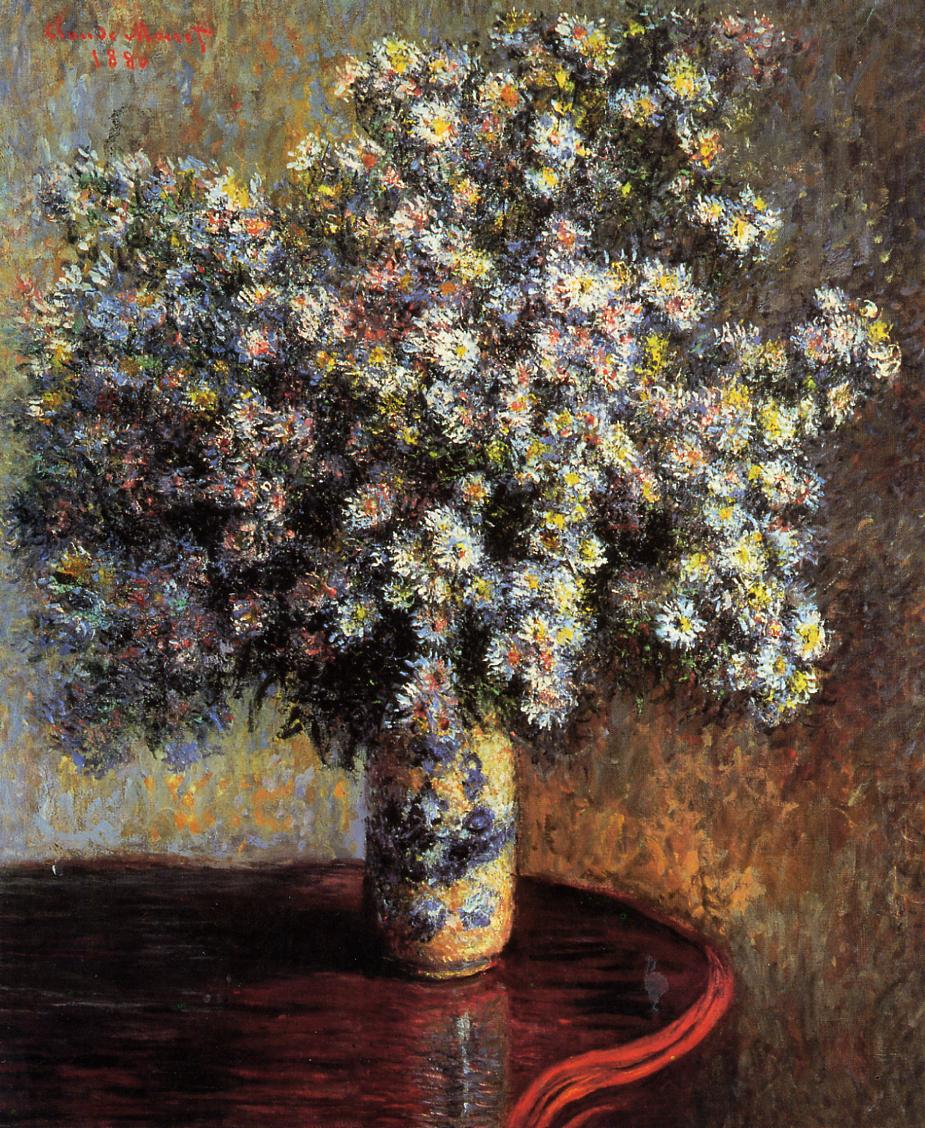 impressionism monet flowers - photo #35