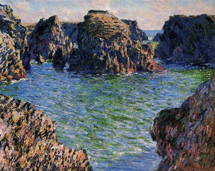 Coming into Port-Goulphar, Belle-Ile, 1886 - Claude Monet