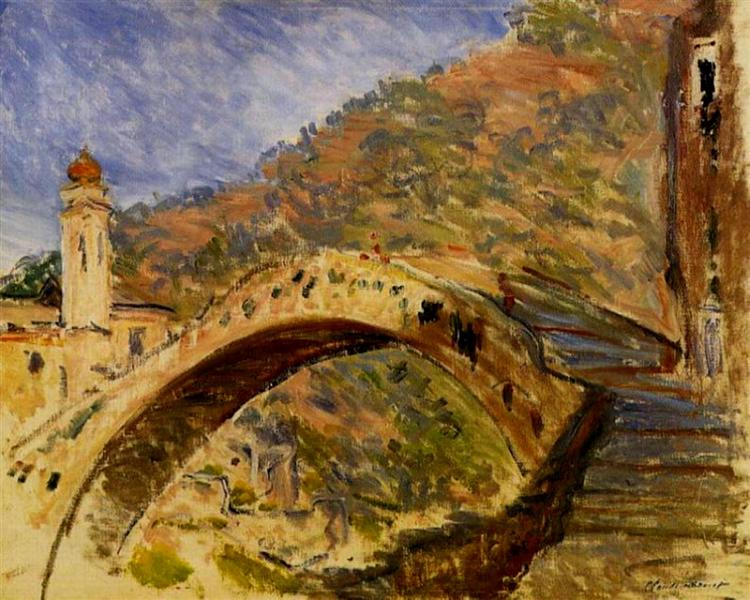 Dolceacqua, Bridge, 1884 - Claude Monet