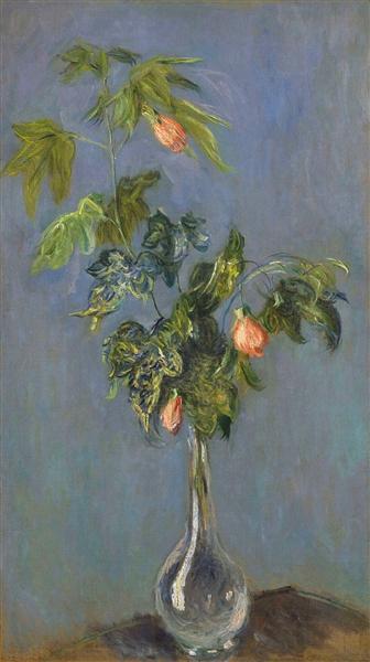 Flowers in a Vase, 1882 - Claude Monet