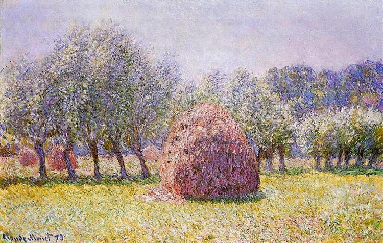 Haystack, 1865 - Claude Monet