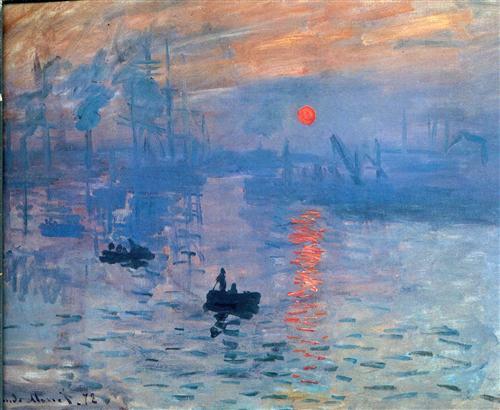 Impression, sunrise - Claude Monet