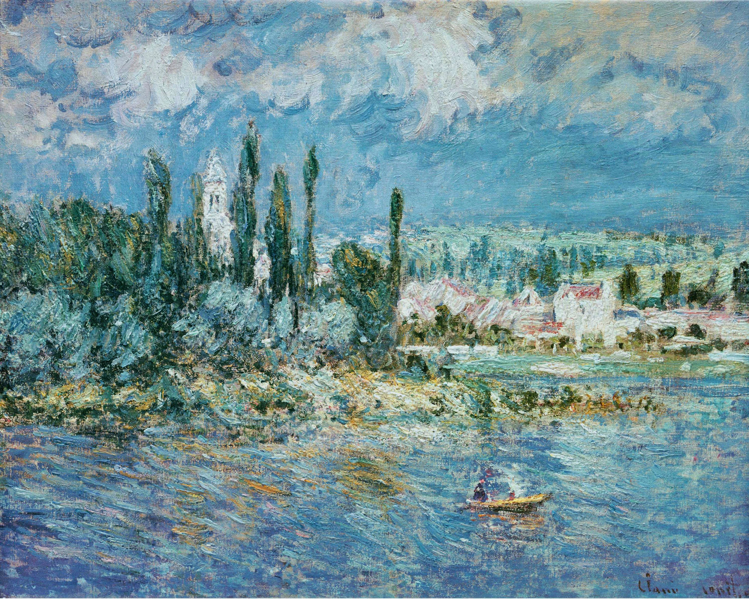 Monet Landscape Painti...